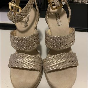 "NWOT Michael Kors Wedges ""7"""
